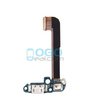 Charging Dock Port Flex Cable with Microphone Replacement for HTC One M7