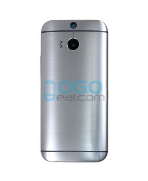 OEM Battery Door/Back Cover Replacement for HTC One M8 - Gray