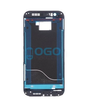 Front Housing Bezel Replacement for HTC One M8s - Black