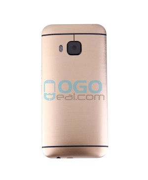 Battery Door/Back Cover Replacement for HTC One M9 - Gold