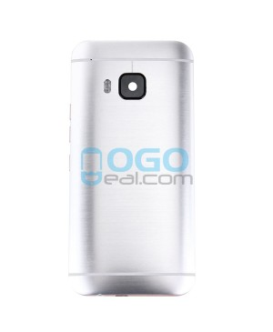 Battery Door/Back Cover Replacement for HTC One M9 - Silver