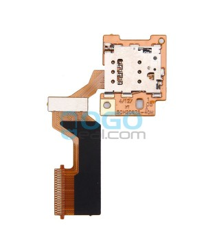 SIM SD Card Reader Connector Flex Cable Replacement for HTC One M9