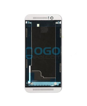 Front Housing Bezel Replacement for HTC One M9+ - Silver