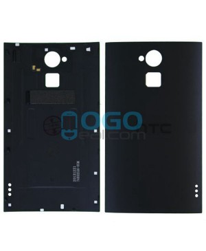 Battery Door/Back Cover Replacement for HTC One Max - Black