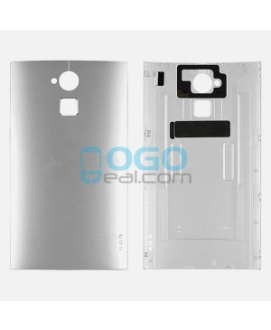 Battery Door/Back Cover Replacement for HTC One Max - Silver