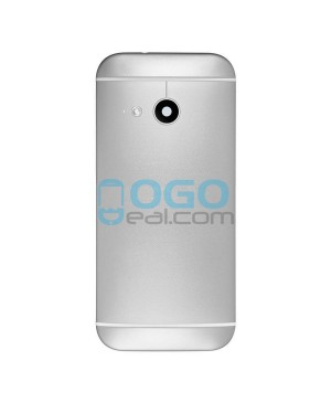 Battery Door/Back Cover Replacement for HTC One Mini 2 - Silver