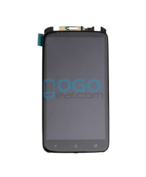 LCD & Digitizer Touch Screen Assembly With Frame replacement for HTC One X - Black