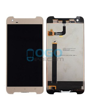 LCD & Digitizer Touch Screen Assembly Replacement for HTC One X9 - Gold