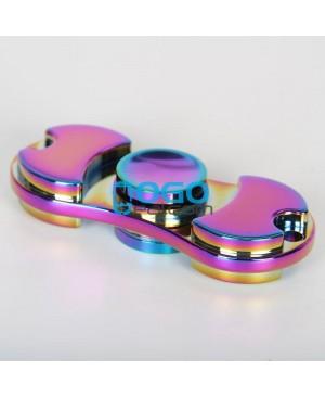 Factory Wholesale Metal Rainbow Hand Spinner Fidget Toy Torqbar