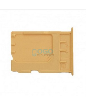 SIM/Micro SD Card Tray Replacement for OnePlus One - Gold