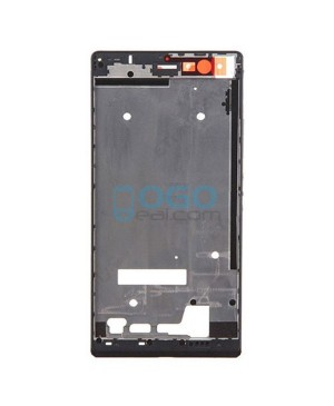 Front Housing Bezel Replacement for Huawei Ascend P7 - Black
