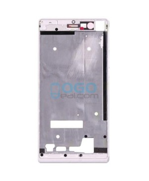 Front Housing Bezel Replacement for Huawei Ascend P7 - White