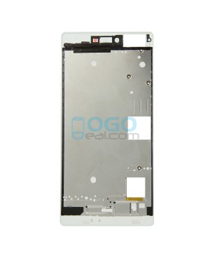 Front Housing Bezel Replacement for Huawei Ascend P8 - White