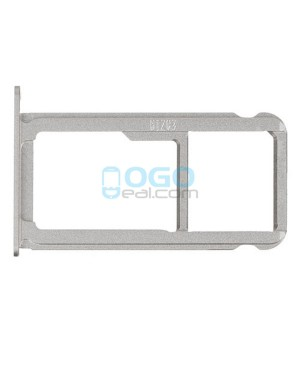 Micro SIM SD Card Tray Replacement - White for Huawei Ascend P9