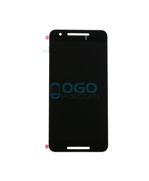 LCD & Digitizer Touch Screen Assembly Replacement for For Google Huawei Nexus 6P - Black