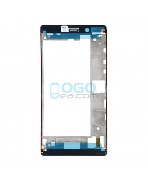 OEM Front Housing Bezel Replacement for Huawei Ascend P8 Max - Black