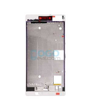 OEM Front Housing Bezel Replacement for Huawei Ascend P8 Max - White