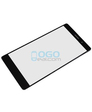 Front Outer Screen Glass Lens Replacement for Huawei Ascend P8 Max - Black