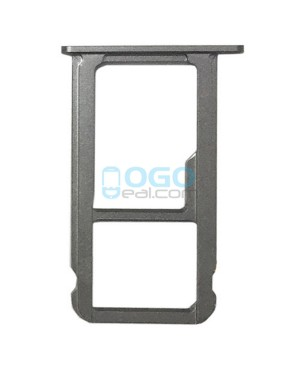 SIM/Micro SD Card Tray Replacement for Huawei Honor V8 - Gray