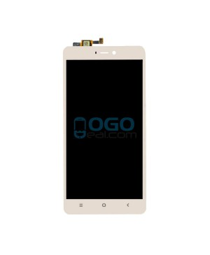 LCD & Digitizer Touch Screen Assembly Replacement for Xiaomi Mi 4S - Gold
