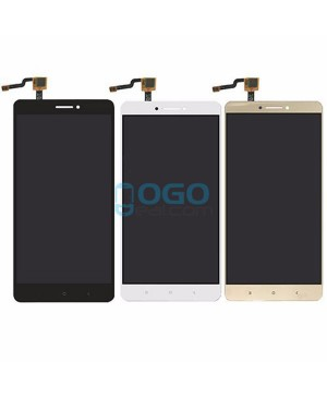LCD & Digitizer Touch Screen Assembly Replacement for Xiaomi Mi Max - White