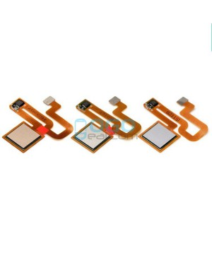 Fingerprint Sensor Flex Cable Replacement for Xiaomi Redmi Note 3 - Black