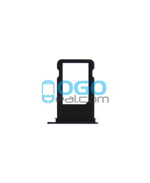 For iPhone 7 Nano SIM Card Tray Replacement- Black
