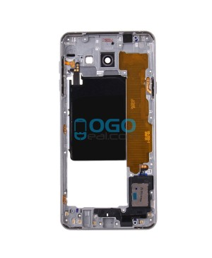 Middle Frame Bezel Assembly Replacement for Samsung Galaxy A7 (2016) A7100 - Silver