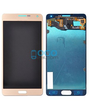 For Samsung Galaxy A7 (2016) A7100 LCD & Digitizer Touch Screen Assembly Replacement - Gold