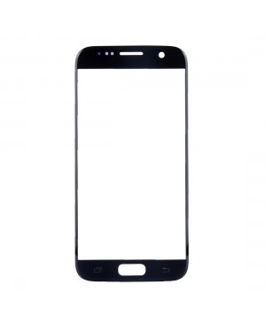 Front Glass Lens Replacement for Samsung Galaxy S7 Black
