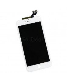 Apple iPhone 6S Plus Digitizer and LCD Screen Assembly with Frame Replacement - White, tianma