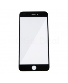 Apple iPhone 6S Plus Front Glass Lens with OCA Adhesive Glue , High Quality - Black