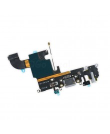 Apple iPhone 6S Charging Dock Connector and Headphone Jack Flex Cable Replacement, Ori New, Dark Gray