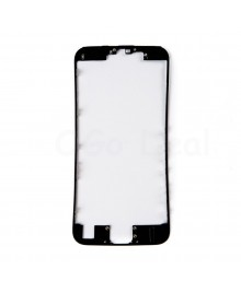 Apple iPhone 6S Front Frame with Hot Glue, High Quality - Black