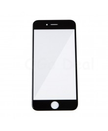 Apple iPhone 6S Front Glass Lens with OCA Adhesive Glue , Ori - Black