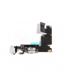 Apple iPhone 6 Plus Charging Dock Connector and Headphone Jack Flex Cable Replacement, High Quality, Light Gray