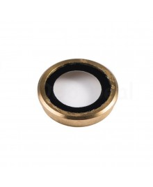 Apple iPhone 6 Plus Rear Back Camera Lens Glass Cover with holder Ring ,Ori - Gold