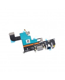 Apple iPhone 6 Charging Dock Connector and Headphone Jack Flex Cable Replacement, Ori New, Dark Gray
