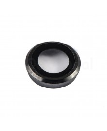 Apple iPhone 6 Rear Back Camera Lens Glass Cover with holder Ring ,High Quality - Black