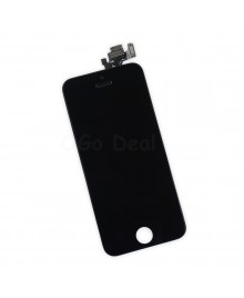 Apple iPhone 5 Digitizer and LCD Screen Assembly with Frame Replacement - Black(Aftermarket LCD TM)