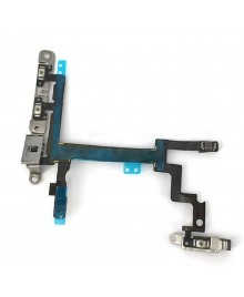 Apple iPhone 5 Power and Volume Flex Cable with Brackets, Ori new
