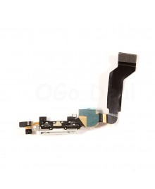 Apple iPhone 4S Charging Dock Connector Flex Cable Replacement, Ori New, White