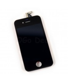 Apple iPhone 4 CDMA Digitizer and LCD Screen Assembly with Frame Replacement - Black(Aftermarket LCD)
