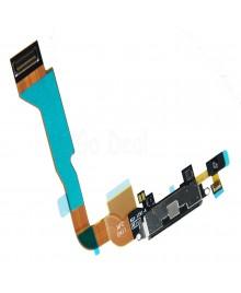 Apple iPhone 4 CDMA Charging Dock Connector Flex Replacement, Ori New, Black