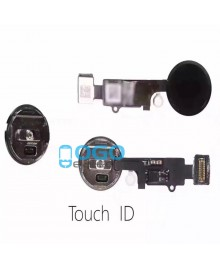 For Apple iPhone 7 Home Button With Home Flex Cable Assembly Replacement - Black