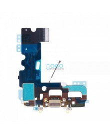 Charging Dock Port Flex Cable Replacement for iPhone 7 Plus - Light Gray