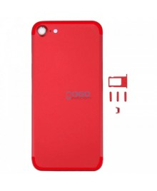 Battery Door/Back Cover Replacement for iPhone 7 - Red