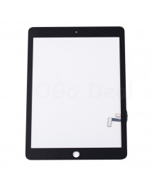 iPad Air Front Glass and Digitizer Touch Panel, High Quality - Black