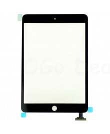 iPad Mini 1/2 Front Glass/ Digitizer Touch Panel, High Quality - Black