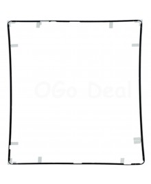 iPad 2/3/4 Front Frame Bezel With Sticker Black